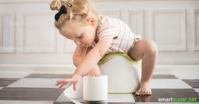 Durchfall und Verstopfung gehören zu den typischen Verdauungsproblemen bei Kindern. Diese Hausmittel helfen!