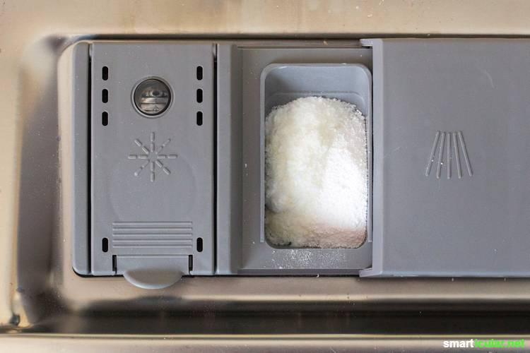 Geschirrspülmittel für die Spülmaschine - So funktioniert die Alternative zu Geschirrspül-Tabs ganz einfach mit diesem Baukastensystem!