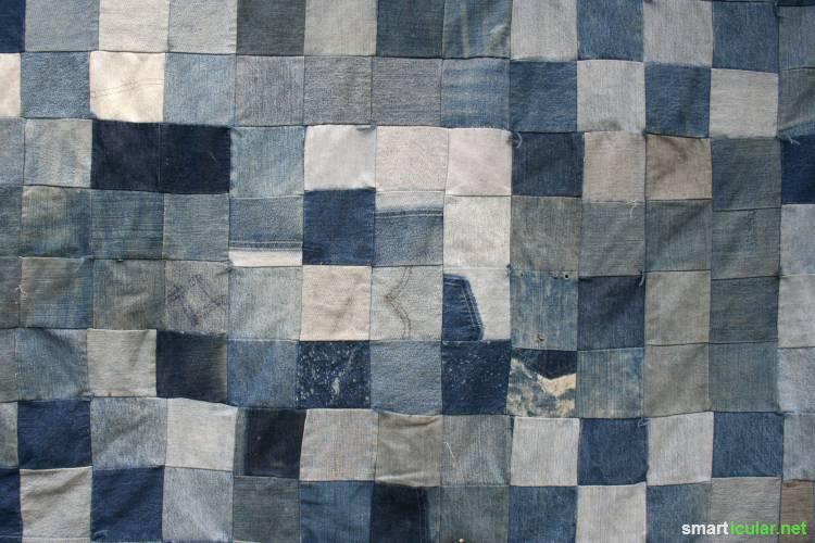 alte und kaputte jeans 14 einfache und sinnvolle upcycling ideen f r. Black Bedroom Furniture Sets. Home Design Ideas