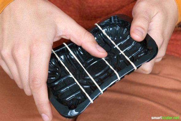 kinder musikinstrumente aus abfall selber machen. Black Bedroom Furniture Sets. Home Design Ideas