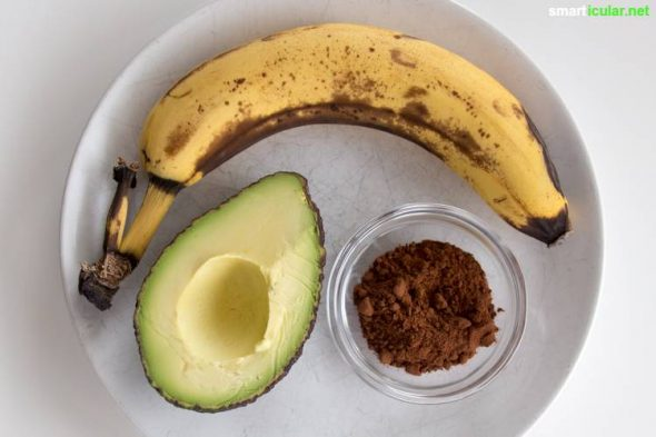 rezept f r schoko aufstrich mit avocado und banane lecker gesund. Black Bedroom Furniture Sets. Home Design Ideas