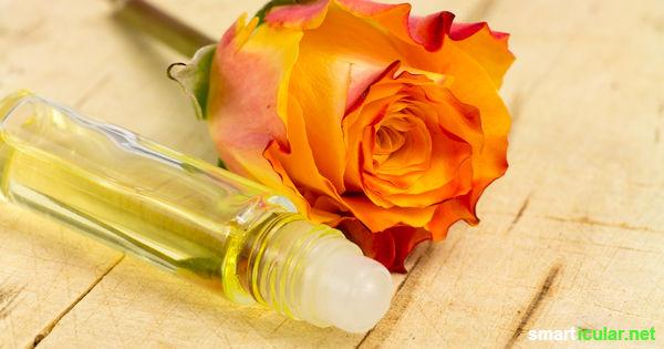 Ätherische Öle helfen unserer Psyche, lindern Kopfschmerzen und mehr. Ihre Wirkung kannst du dir mit selbst gemachten Aroma-Roll-Ons zu nutze machen!
