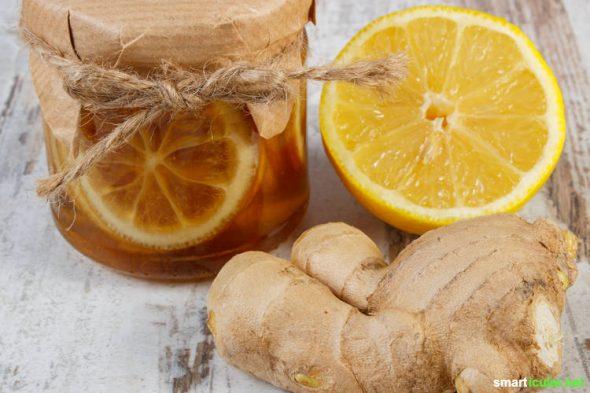 Hustenmittel aus der Apotheke kannst du dir getrost sparen! Mach dir stattdessen mit diesen Rezepten für Hustensirup die Heilkräfte der Natur zunutze.