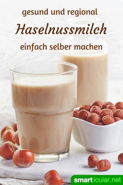 Bist du auf der Suche nach einer preiswerten und umweltfreundlichen Alternative zu Kuhmilch? Dann probiere dieses Rezept für köstliche Haselnuss-Milch!