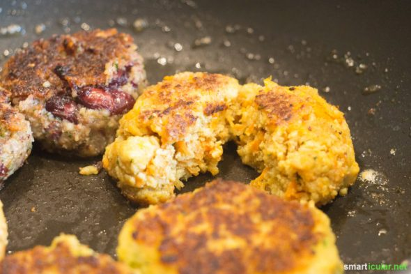 Weils nicht immer Fleisch sein muss: 3 Rezepte für vegetarische und vegane Frikadellen, die mindestens genauso lecker sind wie das Original!