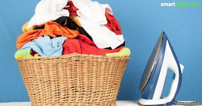 Bügeln leicht gemacht: Diese 5 Tricks sparen Zeit und Geld - inklusive Rezepten für Entkalker, Bügelstärke und Bügel-Wasser mit Hausmitteln.