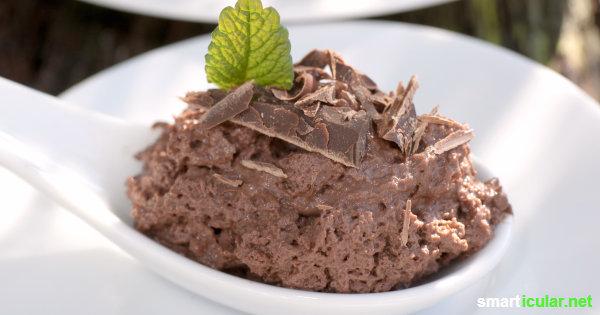 vegane mousse au chocolat selber machen aus 3 zutaten. Black Bedroom Furniture Sets. Home Design Ideas
