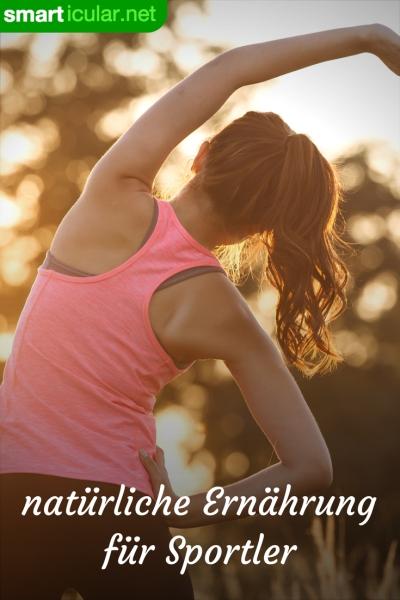 Vollwertkost statt Tabletten: Mit der richtigen Ernährung kannst du deine sportlichen Ziele erreichen, fit werden oder abnehmen - ganz ohne künstliche Nahrungsergänzungsmittel.