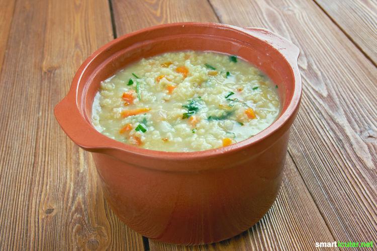 Die Hirse kommt wieder! Zu Recht, denn das kleine Korn ist reich an Mineralstoffen und Vitaminen, leicht verdaulich und besonders lecker in süßen wie herzhaften Gerichten.