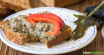 Algen stehen bisher noch nicht besonders weit oben auf deinem Speiseplan? Das wird sich nach diesem Rezept für einen leckeren Wakame-Brotaufstrich ganz sicher schnell ändern!