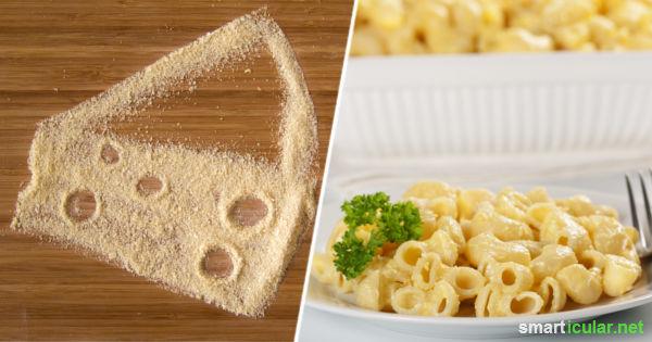 Auf Käse zu verzichten fällt den meisten Vegetariern schwer - probiere doch mal Hefeflocken als gesunden, vielseitigen Ersatz mit dem typischen Käse-Aroma!