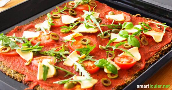 Low-Carb-Pizza Grundrezept: Geschmack statt Kalorien