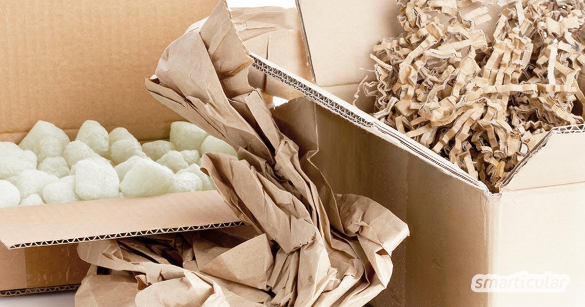 Online bestellen ohne Berge von Verpackungsmüll? Das ist gar nicht so leicht! Bei welchen Shops du verlässlich verpackungsarm und plastikfrei online einkaufen kannst, erfährst du hier.