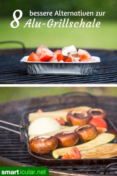 Aluminium im Essen - nein danke: Mit diesen Grillschalen-Alternativen ohne Alu kannst du nachhaltiger und unbedenklicher grillen.