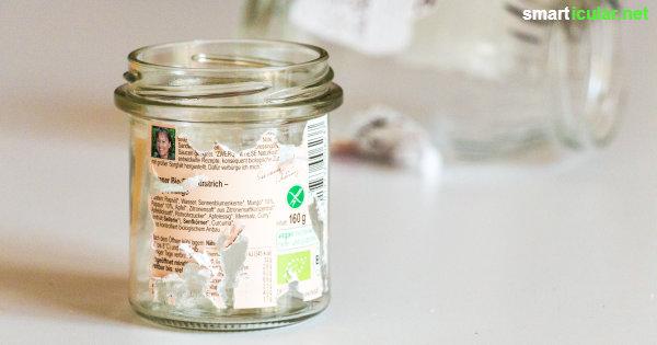 Aufkleber Und Etiketten Einfach Mit Hausmitteln Entfernen