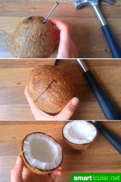 kokosmus und kokosmilch auf vorrat selber machen aus kokosflocken. Black Bedroom Furniture Sets. Home Design Ideas