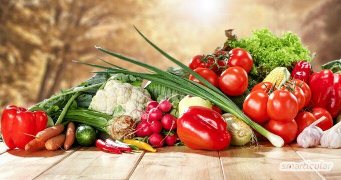 Sommerlich-regionale Rezeptideen: Gesund, frisch und umweltfreundlich kochen mit den saisonalen und regionalen Rezepten für den Juli.