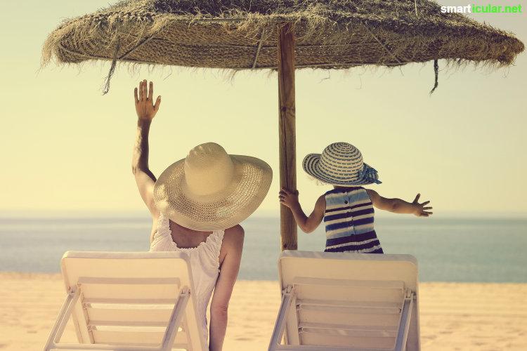 Sonnenschutzmittel können der Haut mehr schaden als nutzen. Mit den folgenden Tipps kannst du dich auch ohne Sonnencreme effektiv vor den negativen Auswirkungen der Sonne schützen.