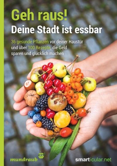 Geh raus! Deine Stadt ist essbar - 36 gesunde Pflanzen vor deiner Haustür und über 100 Rezepte, die Geld sparen und glücklich machen - ISBN 978-3-946658-06-1