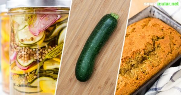 9 ungew hnliche zucchini rezepte herzhaft s sauer roh und als kuchen. Black Bedroom Furniture Sets. Home Design Ideas