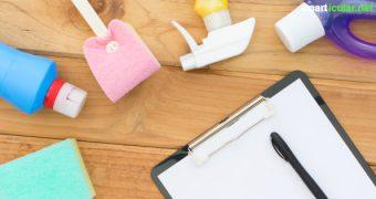 Zeit und Arbeit sparen mit diesem Putzplan: Mit wenigen Minuten täglich bleibt deine Wohnung blitzblank, so dass stundenlanges Putzen entfällt.