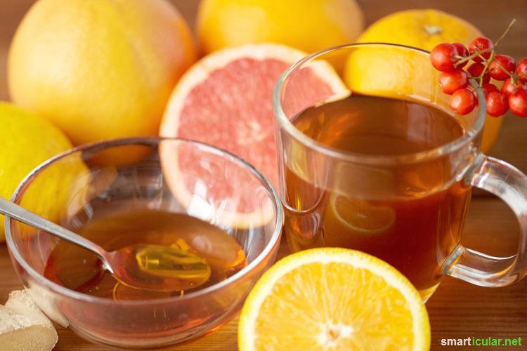 Honig ersetzt zahlreiche Medikamente, denn er enthält viele gesundheitsfördernde Inhaltsstoffe - mit 7 Rezepten für die natürliche Hausapotheke.