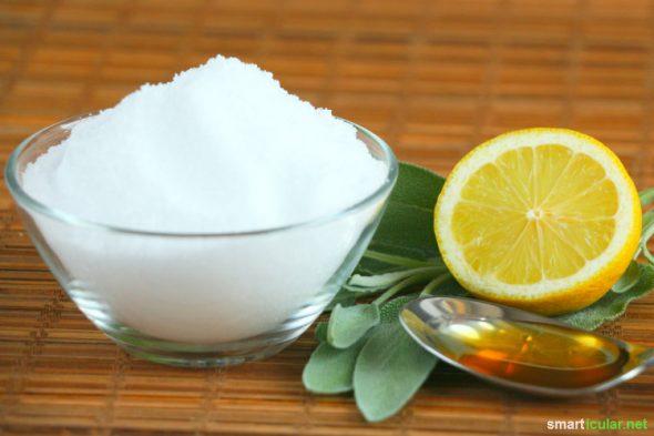 Heilsame Kräuter gegen Erkältungskrankheiten mit selbst gemachten Salbei-Bonbons auch unterwegs genießen - einfaches Rezept mit vier Zutaten.