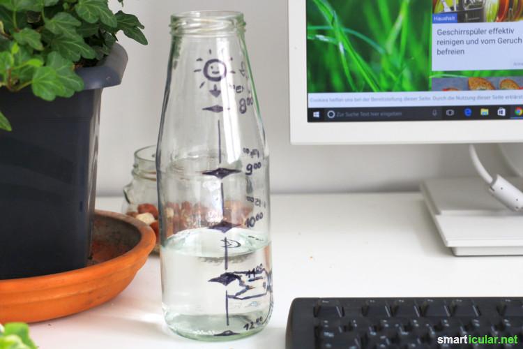 Wasser ist Lebenselixier! Und trotzdem fällt es nicht immer leicht, genug davon zu sich zu nehmen. Mit diesen sieben Tipps schaffst du es, immer ausreichend zu trinken.