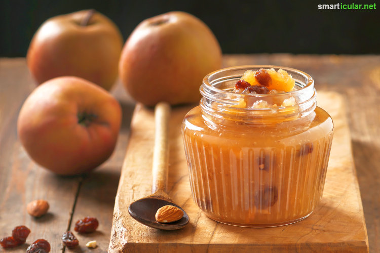 In allen Gärten, in Parks und an Landstraßen reifen die Äpfel - Hier warten zehn abwechslungsreiche Rezepte, um deine Apfelernte haltbar zu machen!