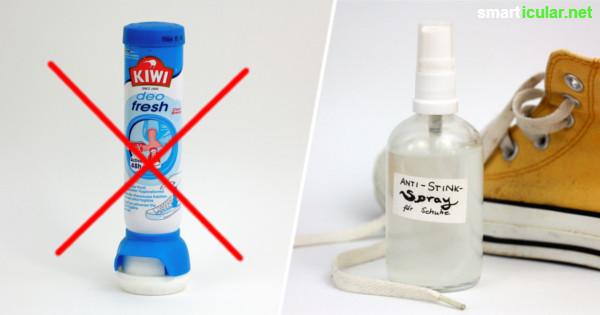schuhe mit faeden selber dekorieren, rezept für selbst gemachtes schuhdeo-spray, Design ideen