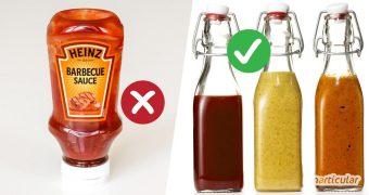 Nie wieder Soßenreste im Kühlschrank! Diese schnellen Rezepte für Grillsoßen sparen Geld, Verpackung und Platz im Kühlschrank.