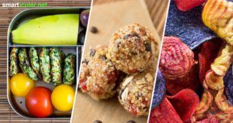 Warum sind vegane Sacks im Laden so teuer? Mit diesen Ideen kannst du kleine Häppchen ohne tierische Inhaltsstoffe im Handumdrehen selber machen.