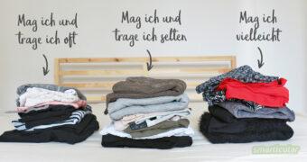 Den Schrank voller Lieblingtsteile! Mit dieser Methode schaffst du es, deinen Kleiderschrank in ein aufgeräumtes, minimalistisches Anziehparadies zu verwandeln.