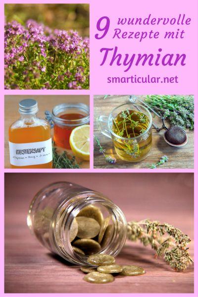 thymian rezepte gegen husten und pickel zum entspannen und desinfizieren. Black Bedroom Furniture Sets. Home Design Ideas
