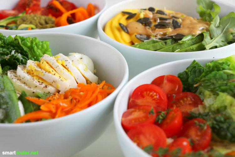 Leckere und gesunde Bowl-Rezepte, die schnell zubereitet sind