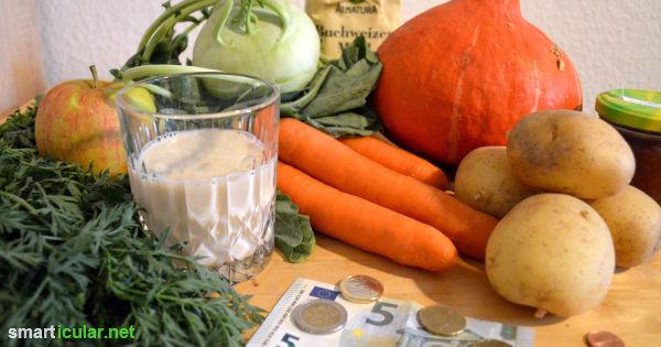 """Wer sich umweltbewusst ernähren will, braucht auch mehr Geld? Nicht unbedingt! Mit einfachen Tipps und kleinen Umstellungen in Kauf- und Essgewohnheiten wird """"Bio"""" auch low budget möglich."""