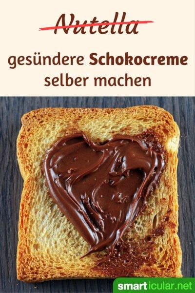 Nutella besteht vor allem aus Palmfett und Zucker. Mit diesen 5 Rezepten für Schokocreme findest du garantiert eine gesündere Alternative nach deinem Geschmack.