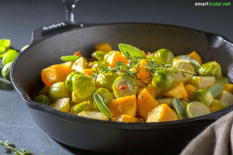 Regional und saisonal kochen im November: Mit diesen leckeren Rezeptideen kannst du die Umwelt schonen und Geld sparen.