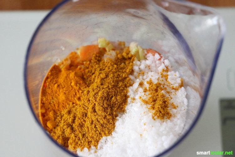Statt einzeln verpackter Instant Asia-Nudelsuppe: Probier doch mal dieses Rezept für asiatische Würzpaste, perfekt für selbst gemachte Instant-Suppe!