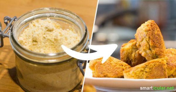 Probiere doch mal dieses einfache Rezept für eine Falafel-Fertigmischung! So kannst du die vegetarischen Bällchen schnell zubereiten und auf Verpackungsmüll und Geschmacksverstärker verzichten.