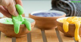 Es ist keine Knete und es ist auch kein Stück Seife: Es ist beides! Mit selbst gemachter Knetseife macht Waschen sogar Kindern Spaß - aber auch den Großen.