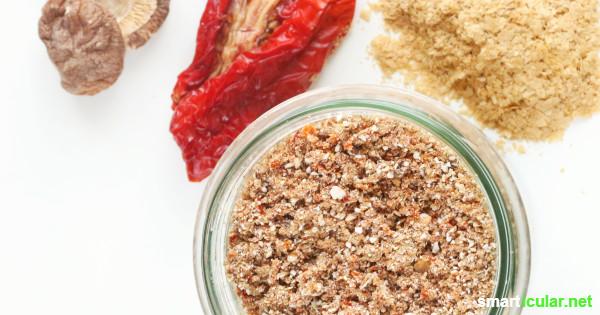 Veganen Speisen fehlt oft der herzhafte Geschmack, den Fleisch und Käse mit sich bringen. Mit dieser Gewürzmischung aus drei Zutaten kommt Umami auch in pflanzliche Gerichte!