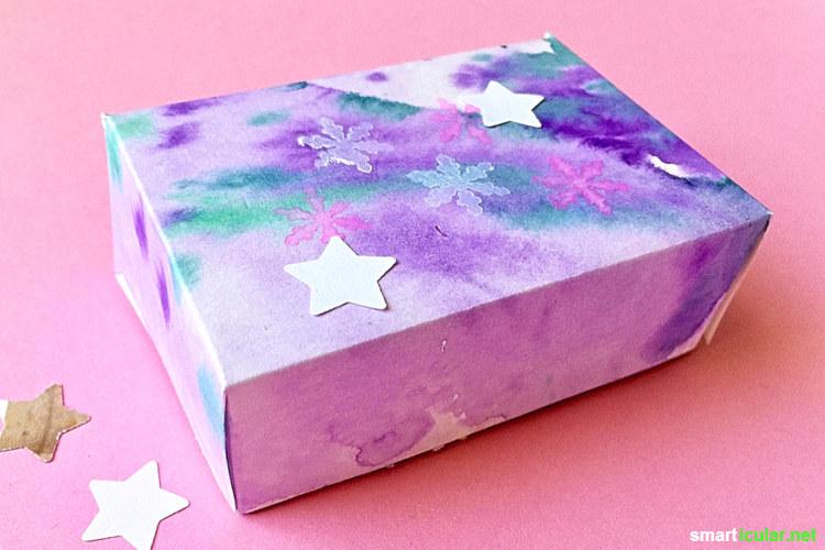 Super 7 Tipps für ökologischen Geschenkverpackung zu Weihnachten SN47