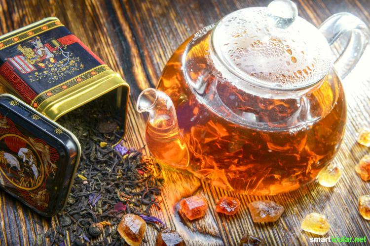 Tee ist nicht gleich Tee! Hier erfährst du alles, was du über Ziehzeit, Wassertemperatur und -qualität wissen musst.