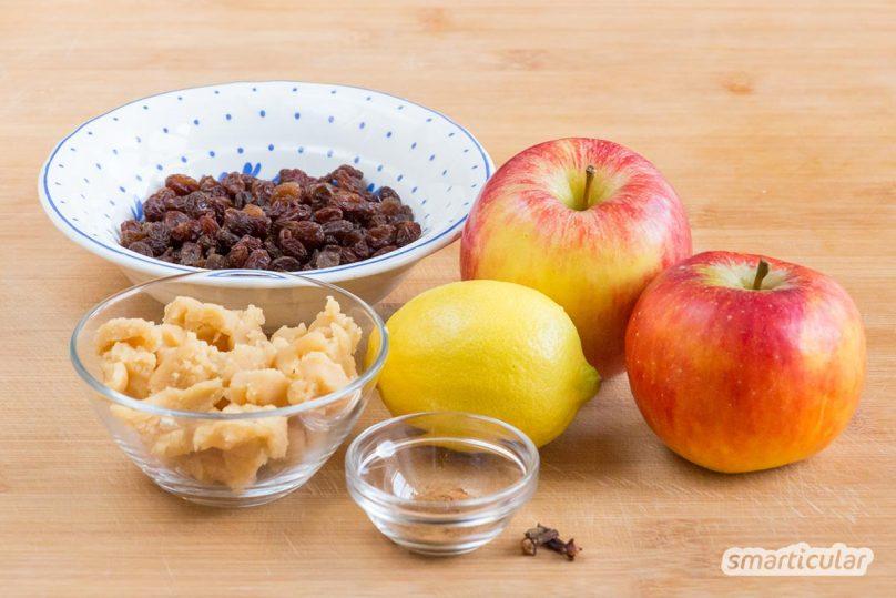 Mit diesem köstlichen Aufstrich bringst du den unvergleichlichen Bratapfelgeschmack aufs Brot - entweder als Geschenk oder zum Selbernaschen!