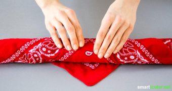 Schenken ohne Verpackungsmüll - das geht mit Furoshiki! Die japanische Art, Geschenke in Tücher zu verpacken, geht schnell und sieht toll aus.