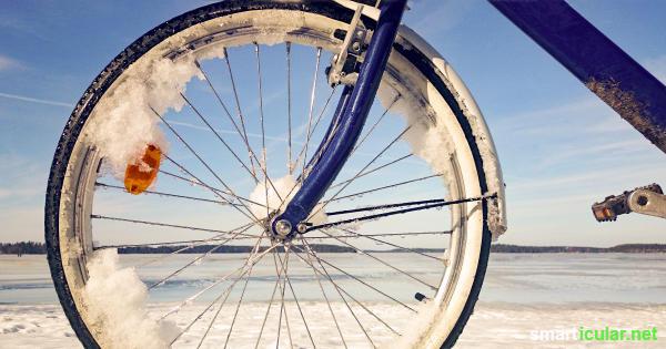 Diese 10 Tipps helfen dir, im Winter deine Umwelt zu schonen, ohne auf Komfort zu verzichten - beim Fahrradfahren, Kochen und Urlaubmachen!