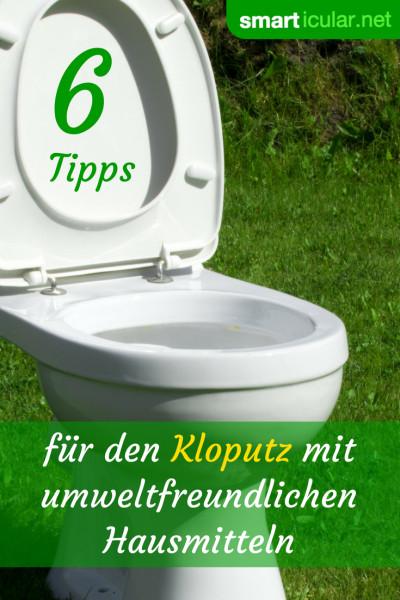 Sauberes Klo ohne giftige Spezialreiniger: Mit diesen einfachen Hausmitteln reinigst du deine Toilette gründlich und langanhaltend.