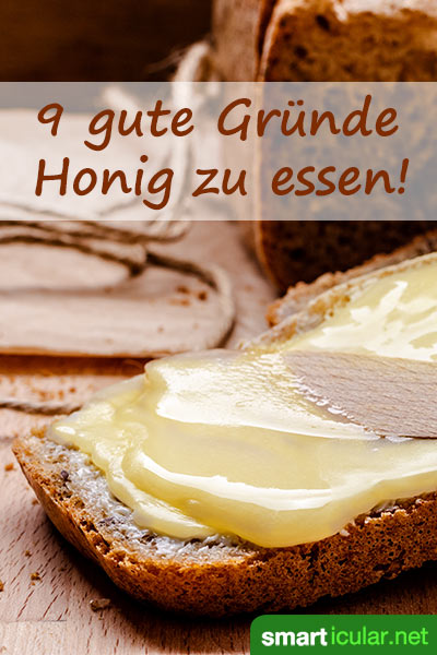 Besser als Zucker: Wie du mit Honig deinen Heißhunger auf Süßes verringerst, deinen Zähnen dabei nicht schadest und deiner Gesundheit auch noch etwas Gutes tust.