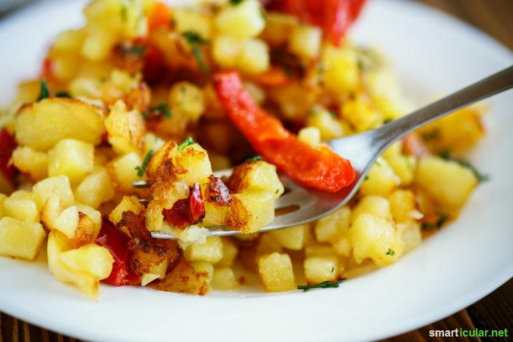 Schnelle, gesunde, vegetarische Rezepte mit nur drei Zutaten